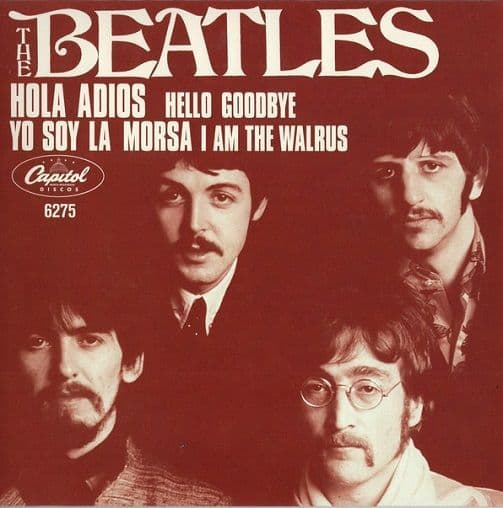 THE BEATLES Hello, Goodbye Vinyl Record 7 Inch Capitol 2019