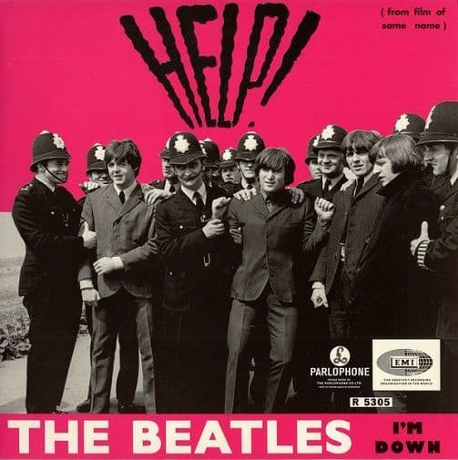 THE BEATLES Help Vinyl Record 7 Inch Parlophone 2019