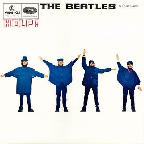 THE BEATLES Help Vinyl Record LP Parlophone