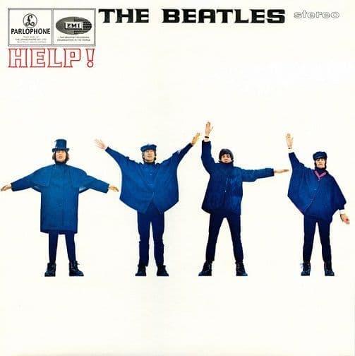 THE BEATLES Help Vinyl Record LP Parlophone