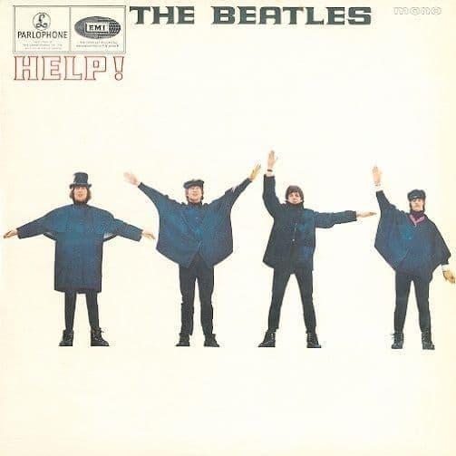 THE BEATLES Help Vinyl Record LP Parlophone 1965