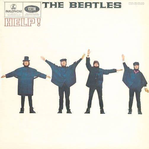 THE BEATLES Help Vinyl Record LP Parlophone 1965...