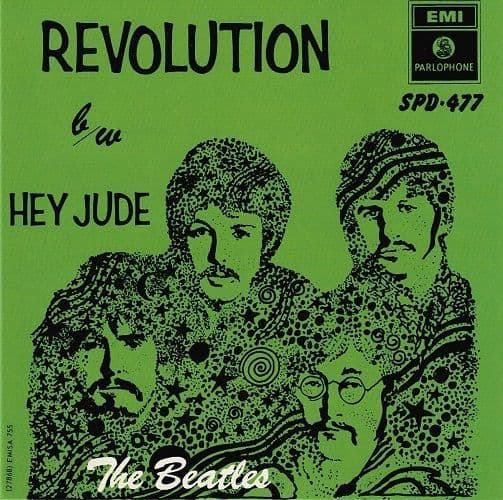 THE BEATLES Hey Jude Vinyl Record 7 Inch Parlophone 2019