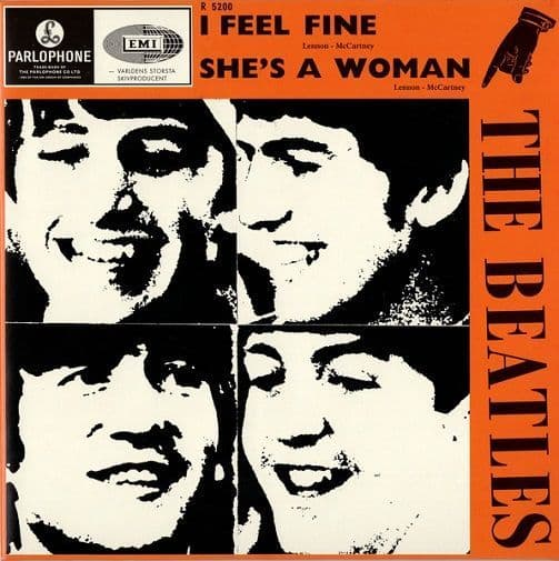 THE BEATLES I Feel Fine Vinyl Record 7 Inch Parlophone 2019
