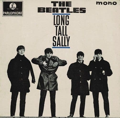 THE BEATLES Long Tall Sally EP Vinyl Record 7 Inch Parlophone 1964