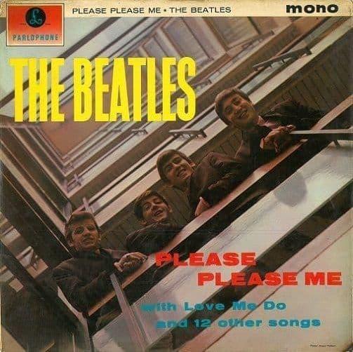 THE BEATLES Please Please Me Vinyl Record LP Parlophone 1963