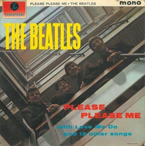 THE BEATLES Please Please Me Vinyl Record LP Parlophone 1963.