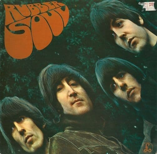 THE BEATLES Rubber Soul Vinyl Record LP Dutch Parlophone