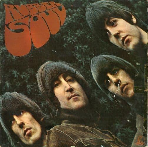 THE BEATLES Rubber Soul Vinyl Record LP Parlophone 1965