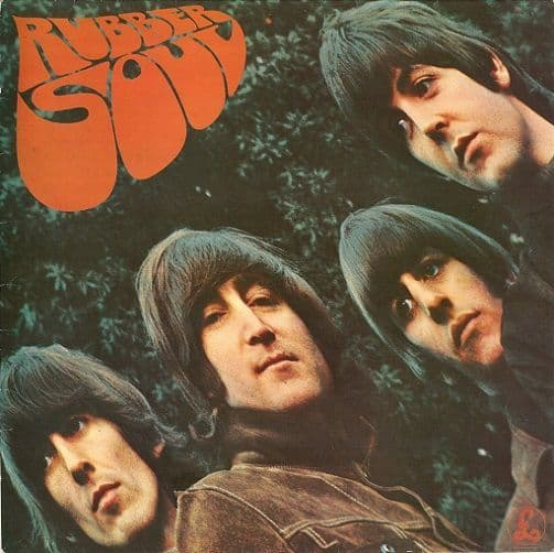 THE BEATLES Rubber Soul Vinyl Record LP Parlophone 1976