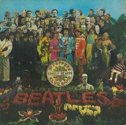 THE BEATLES Sgt. Pepper's Lonely Hearts Club Band Vinyl Record LP Dutch Parlophone 1967