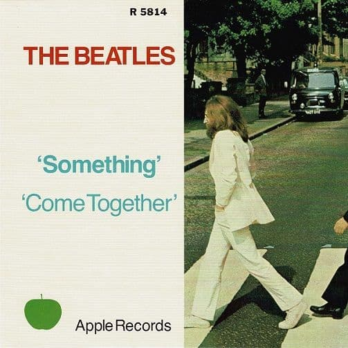 THE BEATLES Something Vinyl Record 7 Inch Apple 2019