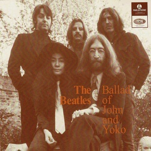 THE BEATLES The Ballad Of John And Yoko Vinyl Record 7 Inch Parlophone 2019