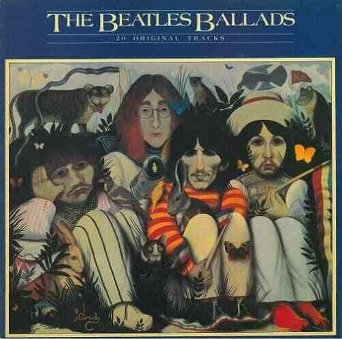 THE BEATLES The Beatles Ballads Vinyl Record LP Parlophone 1980