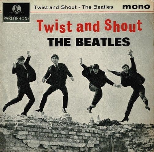 THE BEATLES Twist And Shout EP Vinyl Record 7 Inch Parlophone 1963