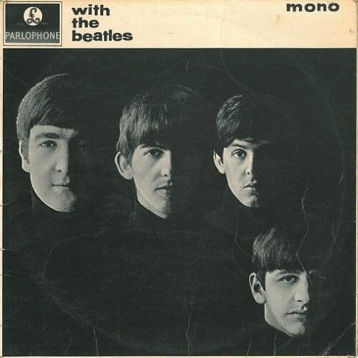 THE BEATLES With The Beatles Vinyl Record LP Parlophone 1963