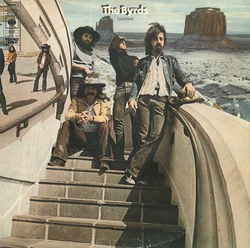 THE BYRDS (Untitled) Vinyl Record LP CBS 1970