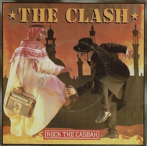 THE CLASH Rock The Casbah Vinyl Record 7 Inch CBS 1982