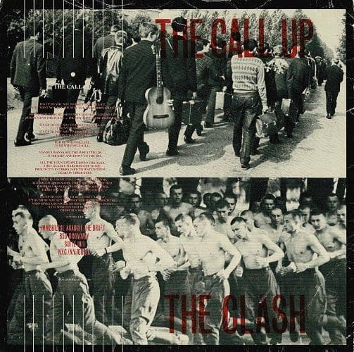 THE CLASH The Call Up Vinyl Record 7 Inch CBS 1980