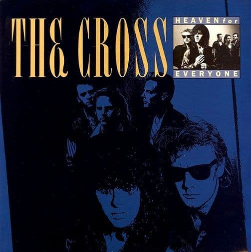 THE CROSS Heaven For Everyone Vinyl Record 12 Inch Virgin 1988