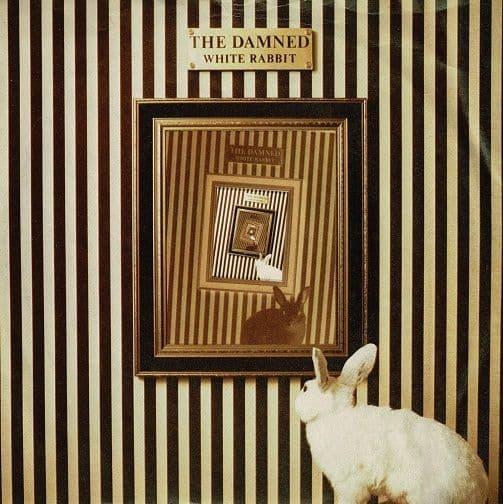 THE DAMNED White Rabbit Vinyl Record 7 Inch Big Beat 1983
