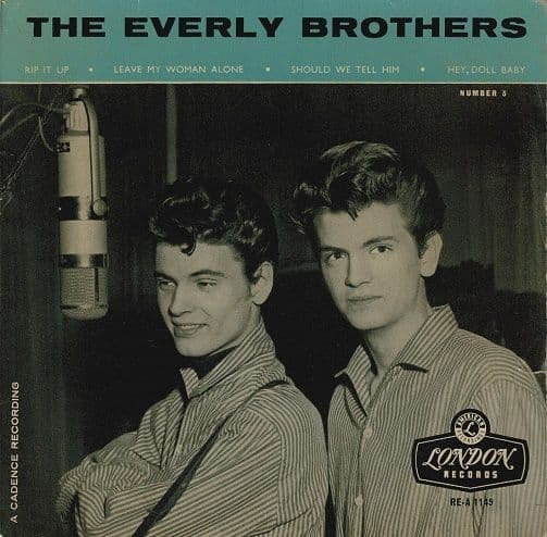 THE EVERLY BROTHERS The Everly Brothers No. 3 EP Vinyl Record 7 Inch London 1960