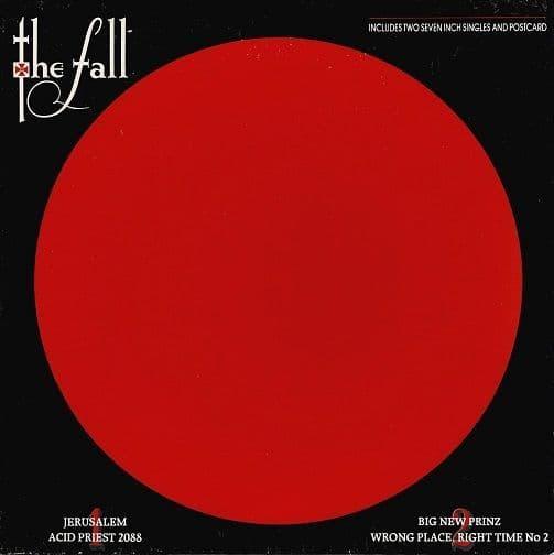 THE FALL Jerusalem Vinyl Record 7 Inch Beggars Banquet 1988 Box Set
