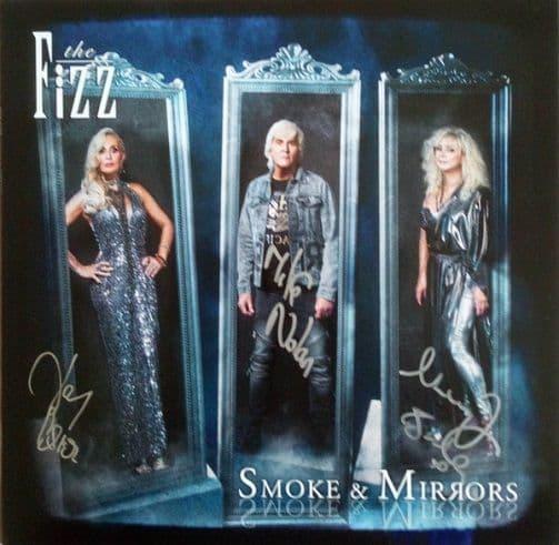 THE FIZZ (BUCKS FIZZ) Smoke & Mirrors Vinyl Record LP MPG 2020 Signed