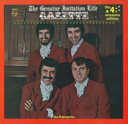 THE FOUR SEASONS (4 SEASONS) The Genuine Imitation Life Gazette Vinyl Record LP Philips 1969