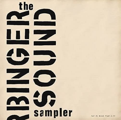 The Harbinger Sound Sampler Vinyl Record LP Harbinger Sound 2017