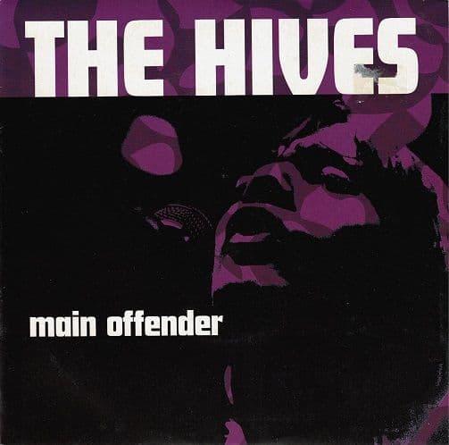 THE HIVES Main Offender Vinyl Record 7 Inch Telstar 2002