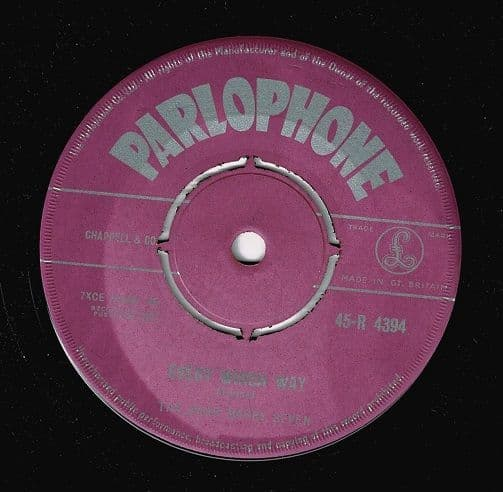 THE JOHN BARRY SEVEN Every Which Way Vinyl Record 7 Inch Parlophone 1958