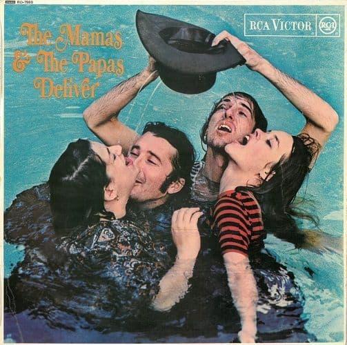 THE MAMAS & THE PAPAS Deliver Vinyl Record LP RCA Victor 1966