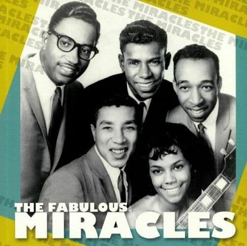 THE MIRACLES The Fabulous Miracles Vinyl Record LP Ermitage 2019