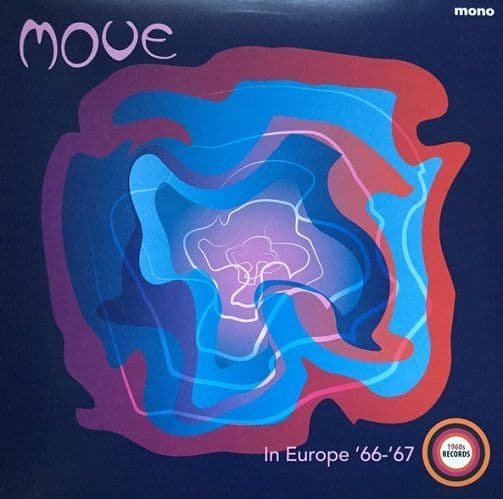 THE MOVE In Europe '66-'67 Vinyl Record LP 1960s 2018