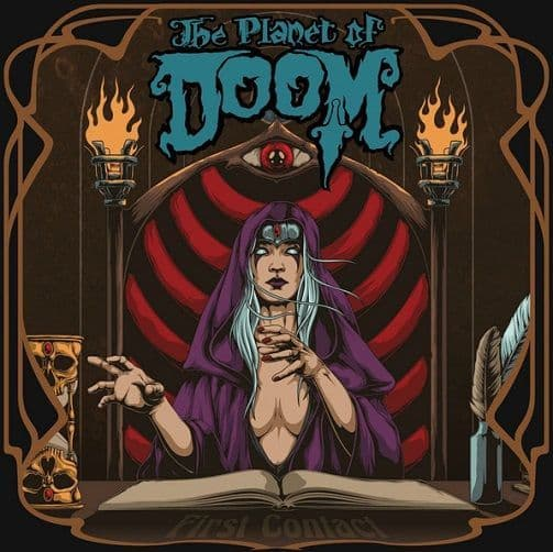 The Planet Of Doom - First Contact Vinyl Record LP Ripple Music 2018