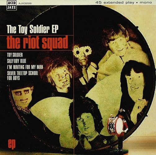 THE RIOT SQUAD The Toy Soldier EP Vinyl Record 7 Inch Acid Jazz 2013