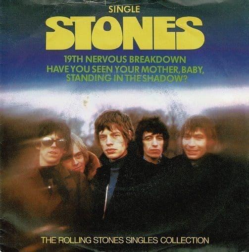 THE ROLLING STONES 19th Nervous Breakdown Vinyl Record 7 Inch Decca 1980