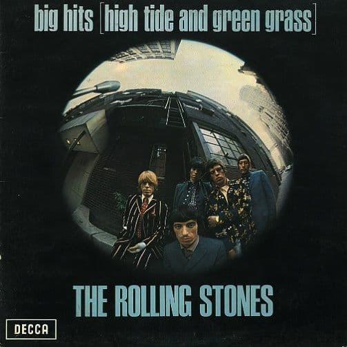 THE ROLLING STONES Big Hits High Tide And Green Grass Vinyl Record LP Decca 1966