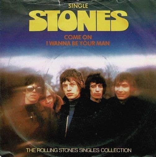 THE ROLLING STONES Come On Vinyl Record 7 Inch Decca 1980