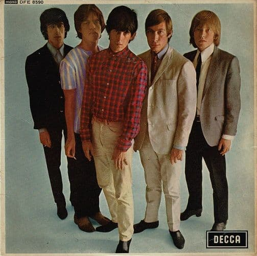THE ROLLING STONES Five By Five EP Vinyl Record 7 Inch Decca 1964
