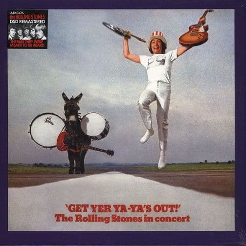THE ROLLING STONES Get Yer Ya-Ya's Out Vinyl Record LP Abkco 2003