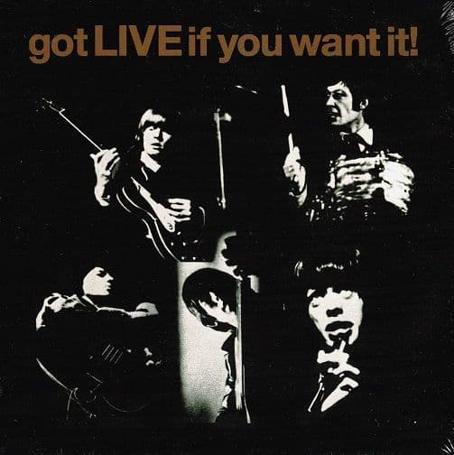 THE ROLLING STONES Got Live If You Want It EP Vinyl Record 7 Inch Abkco 2014