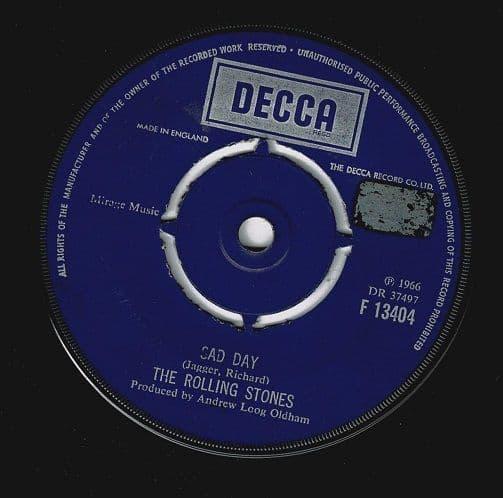 THE ROLLING STONES Sad Day Vinyl Record 7 Inch Decca 1973