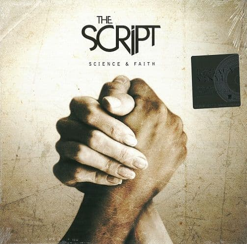 THE SCRIPT Science And Faith Vinyl Record LP RCA 2016