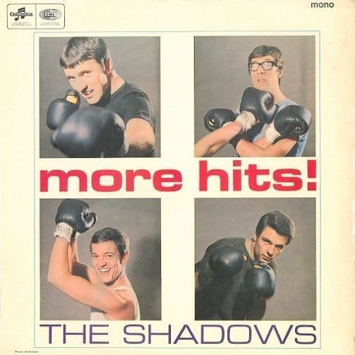 THE SHADOWS More Hits Vinyl Record LP Columbia 1965