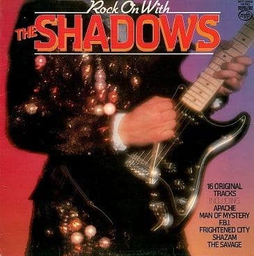 THE SHADOWS Rock On With The Shadows LP Vinyl Record Album 33rpm MFP 1979