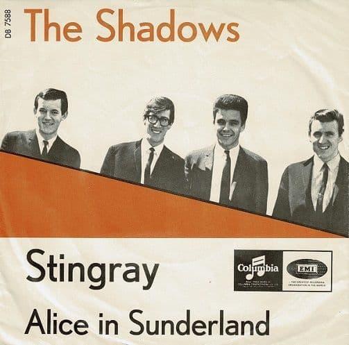 THE SHADOWS Stingray Vinyl Record 7 Inch Danish Columbia 1965