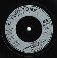 THE SPECIALS (THE SPECIAL AKA) Ghost Town Vinyl Record 7 Inch 2 Tone 1981.