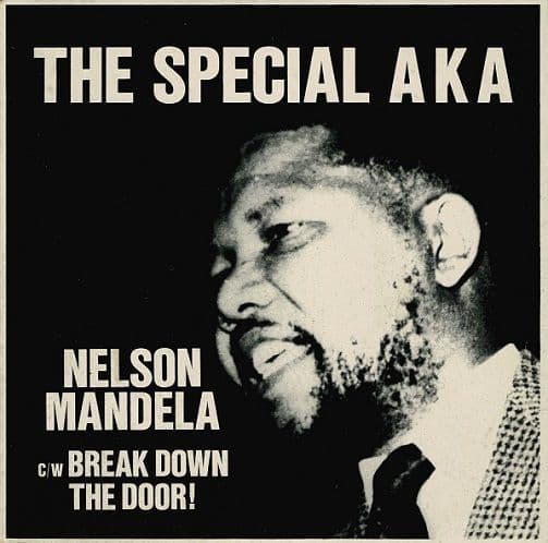 THE SPECIALS (THE SPECIAL AKA) Nelson Mandela Vinyl Record 7 Inch 2 Tone 1984